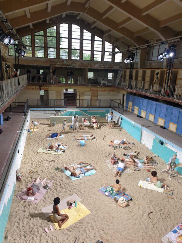 """""""Saulė ir jūra"""" rodoma unikalioje vietoje Vokietijoje"""