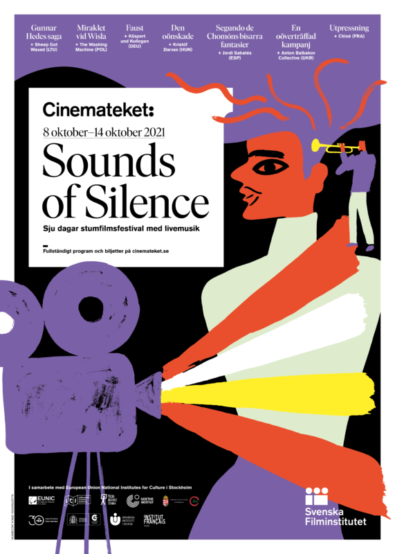 "Grupė ""Sheep Got Waxed""Stokholme atidarė tarptautinį nebyliojo kino festivalį ""Sounds of Silence"""
