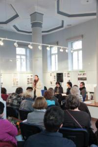 061 Vertėjų seminaras Kėdainiuose Skaitymai Daugiakultūriame centre