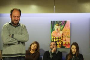 113 Literatūros vertėjų seminaras Kėdainiuose literatūros vertėjas Markus Roduner pristato ateities planus -vokiškai išleisti Viliu Karaliu