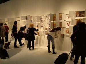 Illustrarium paroda lankytojai