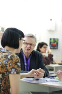 LT stendas susitikimas su Creative Scotland